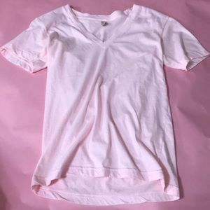 American Apparel pink t shirt